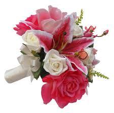 stargazer bouquet pink stargazer brides wedding bouquet s flowers