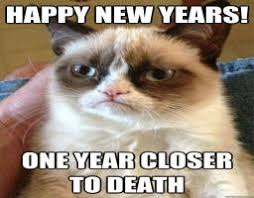 Happy New Year Meme - happy new year grumpy cat know your meme