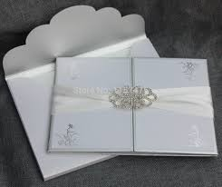 silver and white invitations compare prices on white silver wedding invitations online