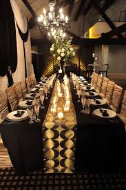 black and gold wedding inspiration receptiondecor goldweddings