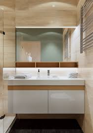 Unconventional Bathroom Themes 3 Open Layout Apartments That Use Clever Space Saving Techniques