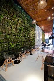 oh a living wall would be delightful but on the back or side