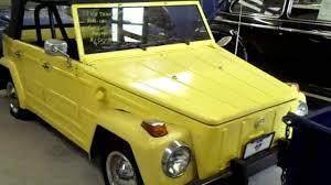 1974 volkswagen thing interior 1973 volkswagen thing yellow vw rare youtube