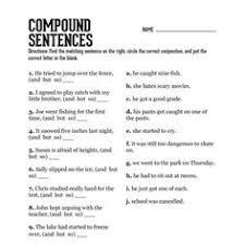 types of sentences simple complex compund compound complex