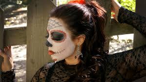 halloween look sugar skull makeup geek