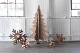 cardboard christmas tree creative handmade christmas tree ideas you can get