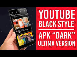 download youtube red apk youtube black mod black edition apk download for android dark mode