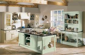 kitchens with shelves green modern style green country kitchens green and cream kitchen country