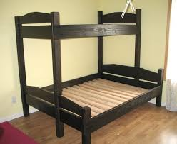 Free Bunk Bed Plans Twin by Bunk Bed Based On Simple Bed Plans
