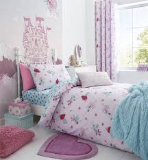 girls pink bedding girls fairies fitted sheet cotton rich single double cot bed