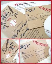 baseball wedding invitations professional staff angela rawlins wedding weddings and
