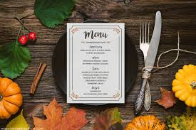 free printable thanksgiving menu mountainmodernlife