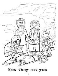 charming ideas zombie coloring book creepy page 224 coloring page