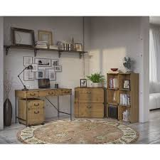 Kathy Ireland Armoire Kathy Ireland Office Ironworks 48w Writing Desk 2 Drawer Mobile