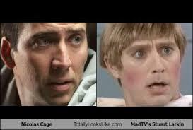 Stuart Mad Tv Meme - nicolas cage totally looks like madtv s stuart larkin randomoverload