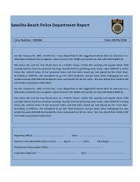 template incident report form report template download meeting program sample police report template police report template police report templatehtml