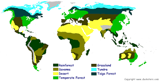 geography blog biome map