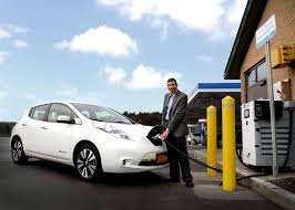 nissan leaf dc fast charge n y power authority unveils the state u0027s first high speed electric