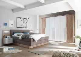 Komplett Schlafzimmer Mit Boxspringbett Schlafzimmer Komplettzimmer Moderne Dekore Weiss Massive