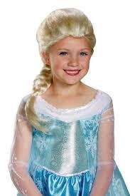 Elsa Halloween Costumes Disney Frozen Elsa Halloween Wig Child Size Toys