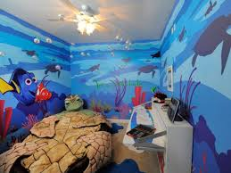 wall mural disney themed nursery modern home interiors ideas image of finding nemo disney themed nursery
