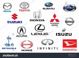 honda logo honda car symbol kazan russia july 7 2016 collection stock photo 684770674