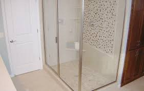 leaking shower door replacement shower doors before u0026 after glass shower door