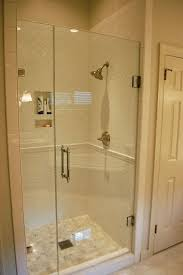 Just Shower Doors White Subway Tile The Mix Of Layout Of Tiles Just Found My