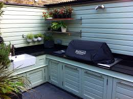 Outdoor Kitchen Against House The Watch House Awaits U2026 U2013 The Frustrated Gardener