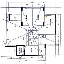 Feng Shui Floor Plans by How To Determine Facing Of Hdb Flat Feng Shui Tips U0026 Guidelines