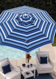 Treasure Garden Patio Furniture Covers - patio striped patio umbrellas home designs ideas
