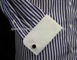 men u0027s contrasting white cutaway collar french cuff non iron dress