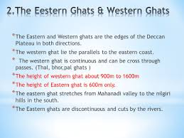 eastern ghats the peninsular plateau ppt video online download
