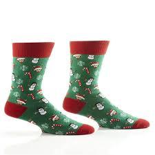 mens christmas socks yo sox men s christmas crew socks ebay