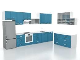 modern small l shaped kitchen design model s max files free
