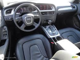 audi a4 2 0 t premium black interior 2009 audi a4 2 0t premium quattro sedan photo