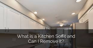 kitchen cabinet soffit lighting what is a kitchen soffit and can i remove it home