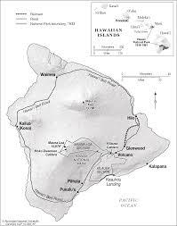 Map Of Big Island Hawaii Hawaii Island Big Island Cartogis Services Maps Online Anu