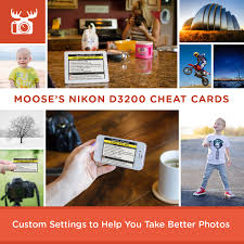 custom settings to help you take better photos with your nikon