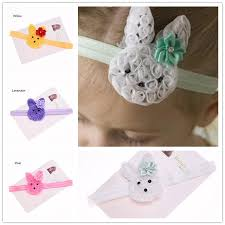 easter hair bows wholesale baby easter hair bows headband bunny hair band