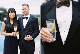 black tie attire destination classic black tie wedding
