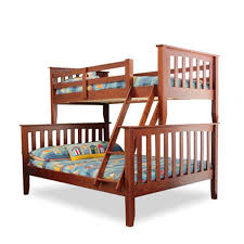 Bunk Beds Loft Beds Kids Double King Queen White Black - Double top bunk bed