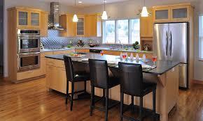 Light Brown Kitchen Cabinets Kitchen Astounding Amish Made Kitchen Cabinets Amish Kitchen
