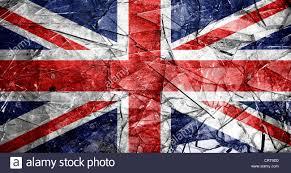 glass broken flag of england stock photo royalty free image