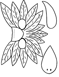 turkey picture to color for thanksgiving designs with heart fall u0026 thanksgiving crafts