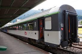 Intercit De Nuit Siege Inclinable Trains De Nuit Gervais Les Bains Icn 5595 Railcc