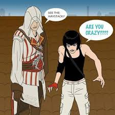 Assassins Creed Memes - assassins creed beakin the laws of physics meme by ninja kid 71