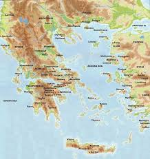 blank map of ancient greece map of ancient greece