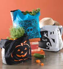 reflective trick or treating tote bag reuseit