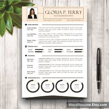 Resume Sample Quick Learner by Cv Template Cover Letter U2013 U201cgloria P Terry U201d